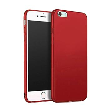 X-Level Rubberized Matte Hard Back Case for Apple iPhone 6 Plus /6s Plus (Red) Price Philippines