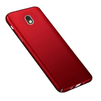 X-Level Rubberized Matte Hard Back Case for Samsung Galaxy J7 Pro(Red) Price Philippines