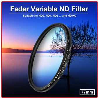 XCSOURCE 77mm Fader Variable ND Filter Neutral Density