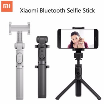 Xiaomi Bluetooth Foldable Tripod Monopod Selfie Stick Bluetooth With Wireless Button Shutter Selfie Stick For Android And iPhone