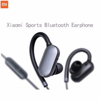 Xiaomi Mi Sports Bluetooth Headset Wireless Earbuds With Microphone Waterproof Bluetooth 4.1 Earphone (Black)