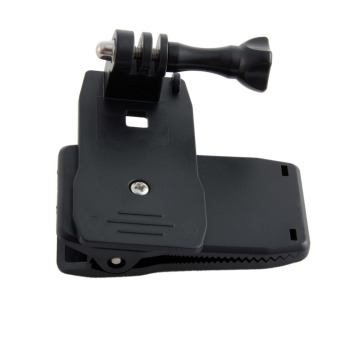 XRCQuads 360 Degree Rotary Backpack Hat Clip Fast Clamp Mount forGoPro Hero 2 3 3+ 4 SJ4000 SJ5000 Accessories