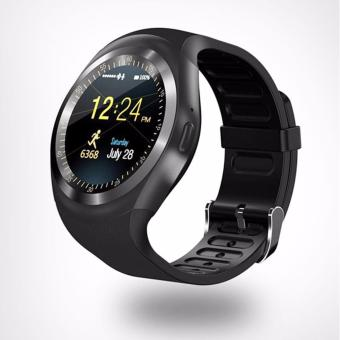 Y1 New Look Round Bluetooth Touch Screen Smart Watch (Black)