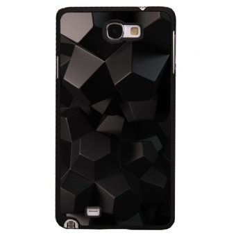 Y&M Black 3D Pattern Covers Cases For Samsung Galaxy Note 2 (Multicolor)