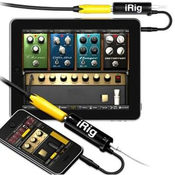 YBC Musical Instruments Fine IK Multimedia Ampli Tube iRig Guitar Interface Adaptor for IOS Device - intl