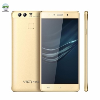 YBZ PSeries P9 Android Gravity Sensor Touchscreen Quad Core 512MB RAM 8GB ROM 8MP Beauty Camera Dual SIM Smart Phone (Gold)