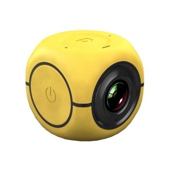 Yellow 1080P HD Bike Motorcycle Helmet Sports Mini Action Camera Video Camcorder - intl