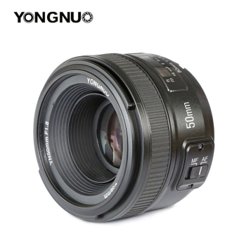 YongNuo Lenses YN50mm F1.8 AF/MF Standard Prime Lens for Nikon Camera