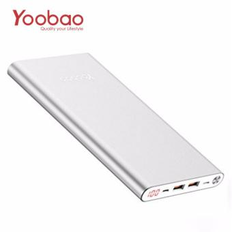 YOOBAO A2 Ultra Thin 20000mAh Power Bank (Silver)