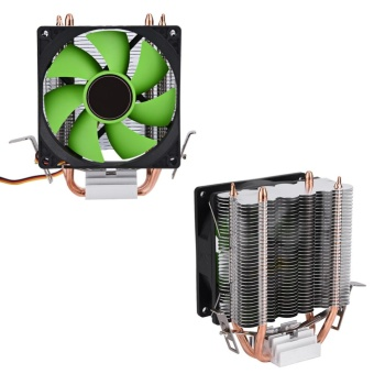YOSOO-90mm 3Pin Fan CPU Cooler Quiet for Intel LGA775/1156/1155 AMDAM2/AM2+/AM3 - intl Price Philippines