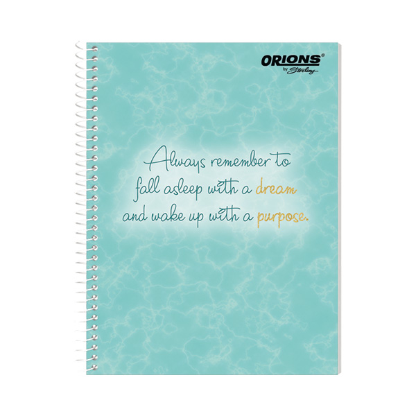 Image of Orions Tie-Dye Spiral Notebook Set of 10