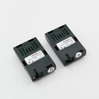 155M Single fiber SC connector bidi 20km 1 9 module optical transceiver for 100M media converter HTB-3100 thumbnail