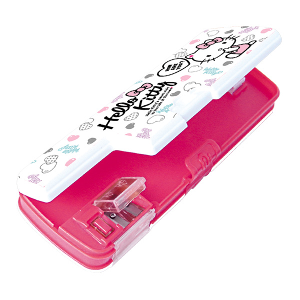 Image of Sterling Hello Kitty with Lock and Sharpener Pencil Case