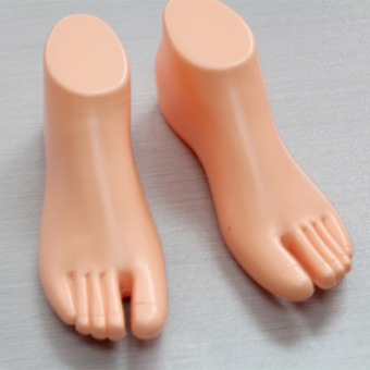 1 Pair Thong Style Female Foot Shoes Mannequin For Foot Sandal ShoeDisplay