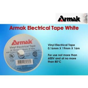 1 pc Armak Electrical Tape White