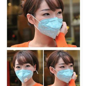 10 pcs New PM2.5 Anti Dust And Anti Fog And Haze Breathing Valve Masks - intl