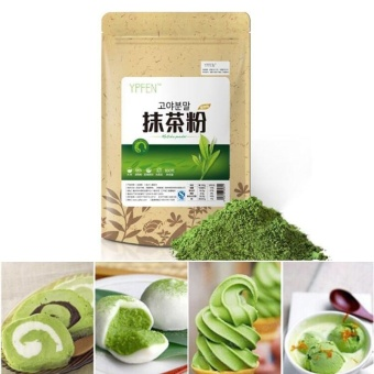100g Matcha Powder Green Tea Pure Organic Premium Loose Tea Cake Home - intl