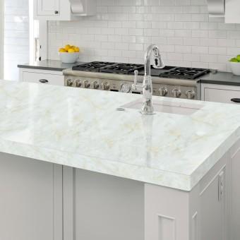 118 * 23.6 inches PVC Waterproof Self-adhesive 3D Imitation Marble Wallpaper Peel & Stick