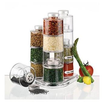 12pcs Spice Tower Jars Price Philippines
