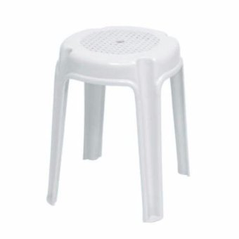 201 Uratex Stool (White)