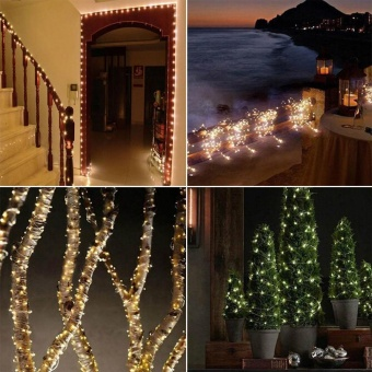 20M 200LED Solar String Lights Christmas Wedding Party Decoration - intl