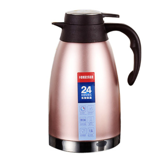 2L-Pink-Stainless Steel Vacuum Thermo Jug Double Wall insulatedPot,Thermos Carafe