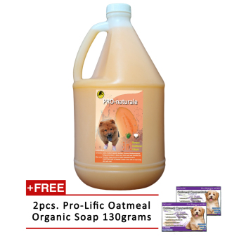 3 in 1 Shampoo, Conditioner and Cologne 1gallon (Melon) with Free2pcs. Prolific Oatmeal Organic Soap 130g