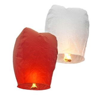 360DSC Kongming Lantern Flying Sky Lantern Wishing Lamp(10-Pack/Assorted Color) Price Philippines