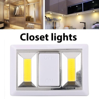 3W Waterproof LED Beam Baterry Wall Lights Closet Light Emergency Lamp 180lm - intl