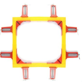 4Pcs 75mm 90?Degree Right Angle Picture Frame Corner Clamp Holder Woodworking Hand Kit