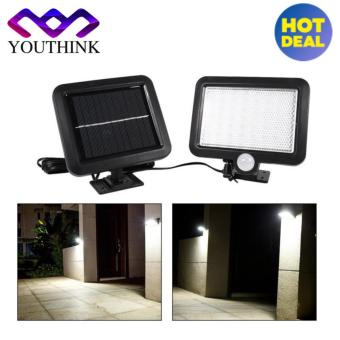 56 LED Solar Powered Motion Sensor Outdoor Wall Mounted Garden Lamp - intl