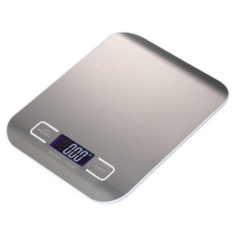 5kg Stainless Multifunctional Digital Kitchen Food Scale With LED Display - intl