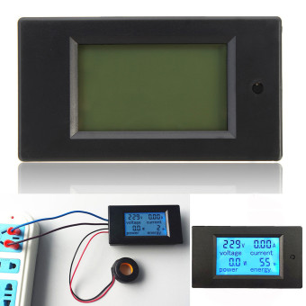 5pcs 100A AC Digital LED Power Panel Meter Monitor Power Energy Voltmeter Ammeter - intl