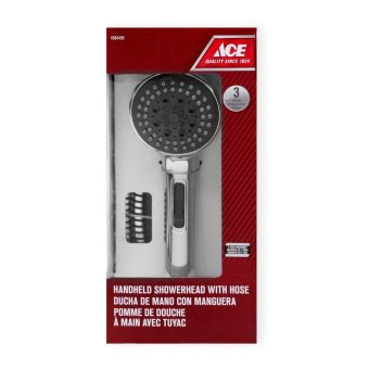 Ace Hardware 3-setting Handheld Showerhead with Hose Price Philippines