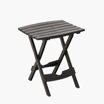 Adams Quik-Fold Side Table (Earth Brown) Price Philippines