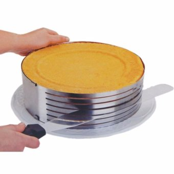 Adjustable Retractable Circular Ring Cakes Model Cake Layered Slicer - intl