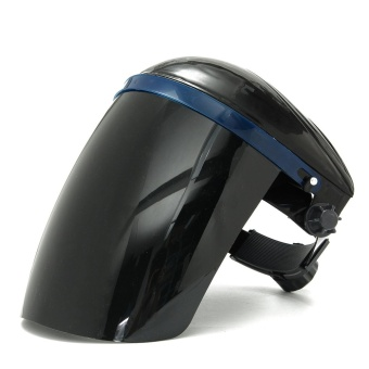 Adjustable Welding Helmet ARC TIG MIG Welder Lens Grinding Mask + Safety Goggles Black Cover + PC Black Screen - intl