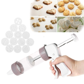 Anself Baking Tools Accessories Cake Biscuits Mold Cookie PressMaking Gun Kitchen Tool Cookies Presser Lcing Mould Kit - intl Price Philippines
