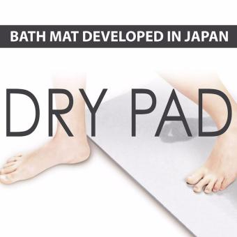 Anti-Slip Diatomite Bath Mat - Plain Design