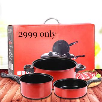 As seen on TV Big promotion stainless steel pan set