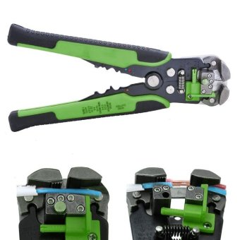 Automatic Wire Stripper Crimping Pliers Multifunctional TerminalTool - intl