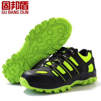 Autumn and Winter breathable slip deodorizing work shoes protective shoes