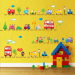 Baobao cartoon kindergarten boy's room sticker wall adhesive paper