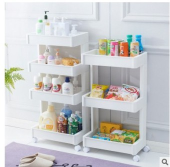 Bathroom kitchen living room bathroom storage rack Plastic Shelf