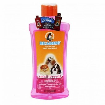 Bearing Tick And Flea Dog and Cat Shampoo for Small Breeds Formula7150ml (Pink)