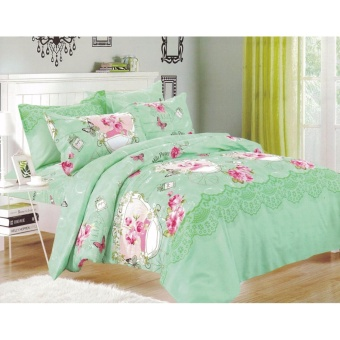 Bedtime Bedsheet Twin Size 3 Piece Set