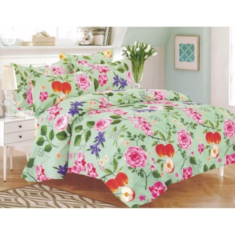 Bedtime Double Size 3 Piece Bedsheet Set