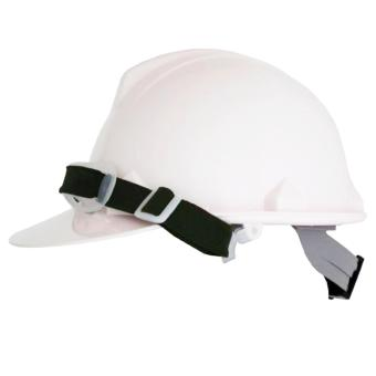 Blue Eagle Construction Safety Helmet / Hard Hat for HeadProtection with FREE CHINSTRAP INCLUDED (White)