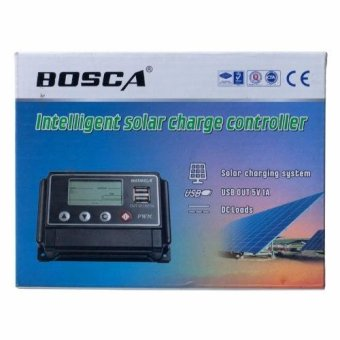 Bosca ST-W 1220 20A Intelligent Solar Charge Controller (Black)#0124