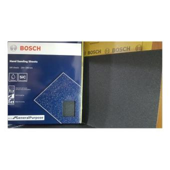 Bosch General Purpose Wet or Dry Hand Sanding Sheet Grit# 180 Price Philippines